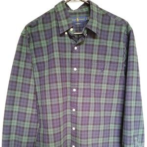 Ralph Lauren Large Button Up Long Sleeve shirt